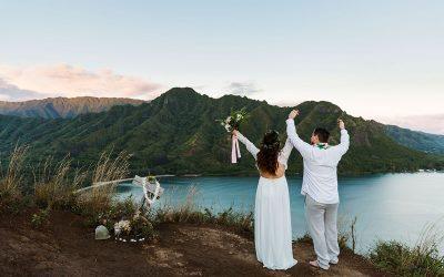 Brandy & Justin Hawaiian Elopement