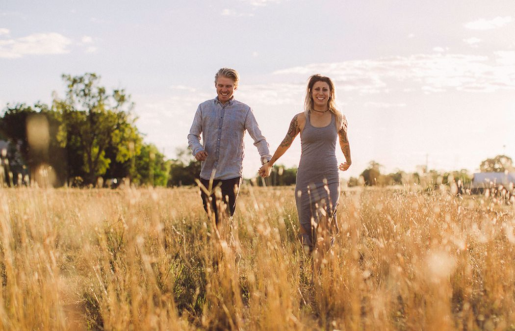 Nick & Izzy's Australian Outback Engagement